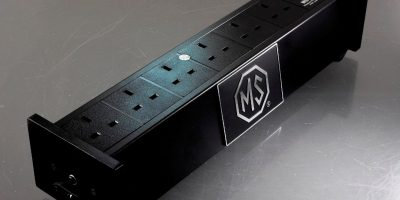 MS HD Power MS-E02S Rhodium 6-Ways UK Filter Sockets with Surge Protection