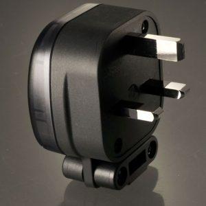 MS HD Power MS-328Rh Rhodium 13A Gigantic UK Plug