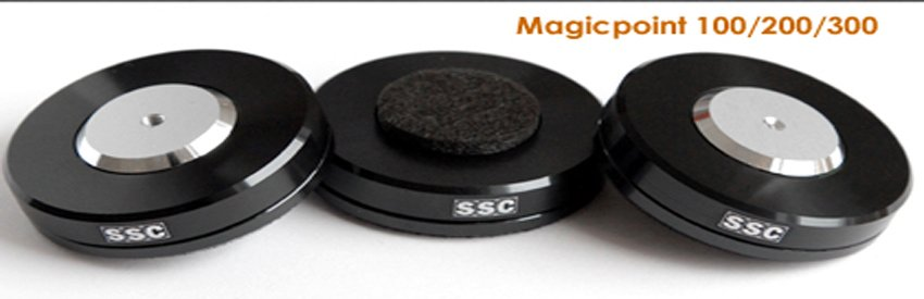 SSC Magic point 200 Aluminium case