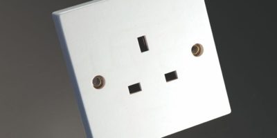 MS HD Power MS-9297G 24K Gold UK Wall Socket