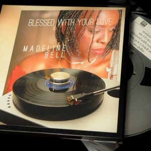 STS Digital Madeline Bell, 'Blessed With Your Heart' Tape, half speed Master.