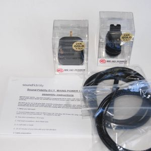 Sound Fidelity Copper Star SF Mains Cable [DIY Kit]