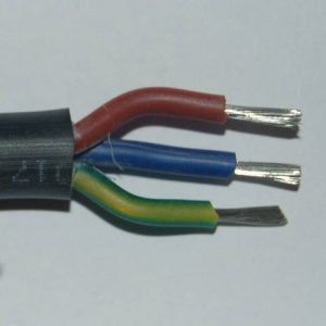 Specialist Mains cable, silicon rubber insulated