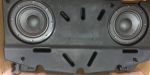 Genuine Original Bentley Subwoofer. Part number 3W8.035.403.E